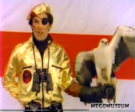 Mego had an Actor dressed as Captain Eagle