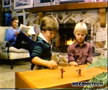 Kids playing with Mego R.I.O.T