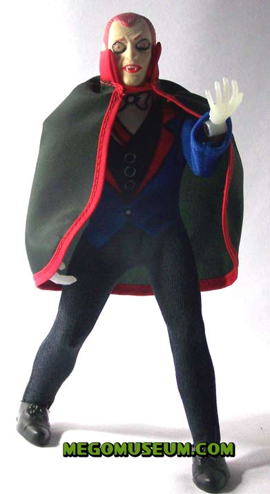 Mego Mad Monsters Red Haired Dracula Doll