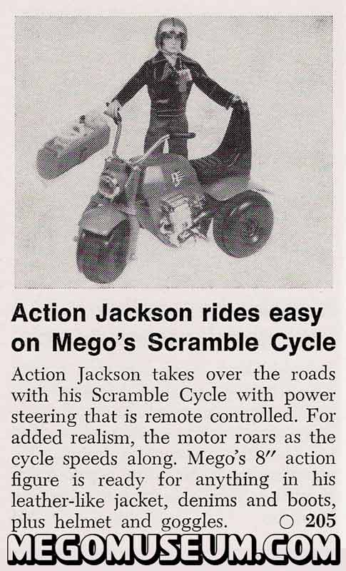 Advertising for Action Jackson Scramble Cycle