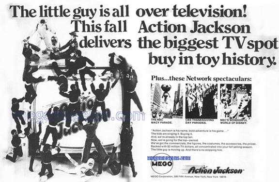 Mego 1973 action jackson ad