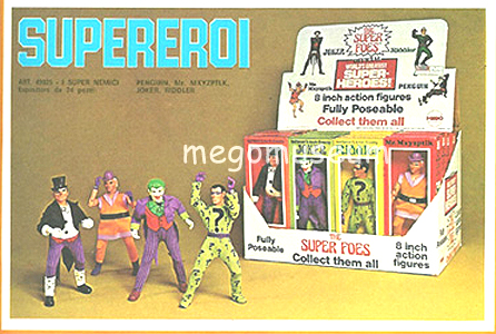 Super Foes Display box
