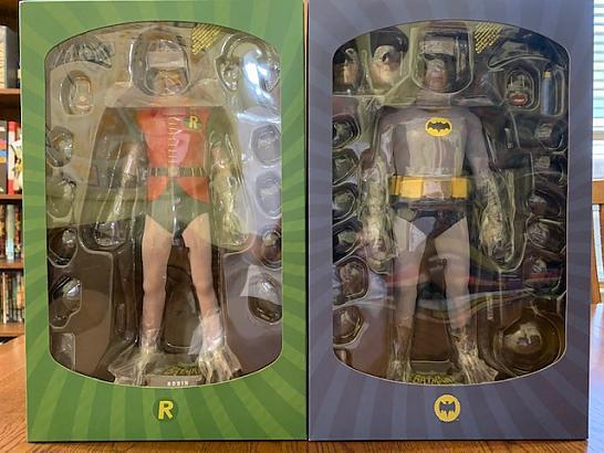 1966 Hottoys Batman & Robin
