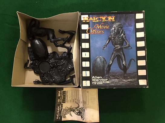 Alien Warrior Model