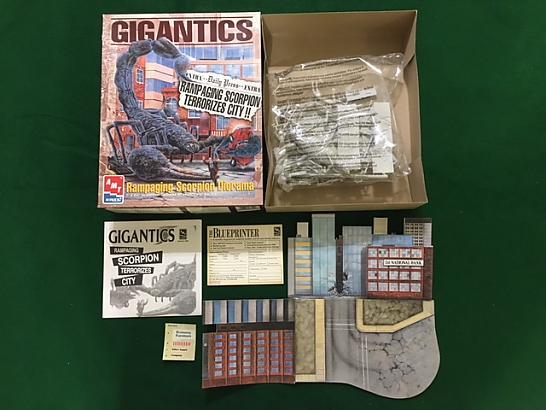 Gigantics Scorpion Model