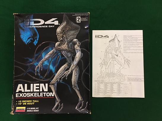 ID4 Alien Model 1 of 2