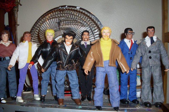 Peter Parker, Bruce Banner, Steve Rogers, Logan, Tony Stark, Oliver Queen, Clark Kent, Bruce Wayne