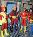 Firestorm, Elongated Man, Flash