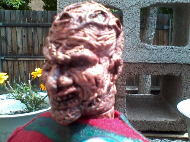 Custom 12 in Freddy Krueger
