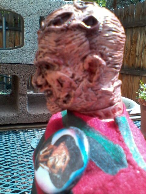Custom 12 in Freddy Krueger