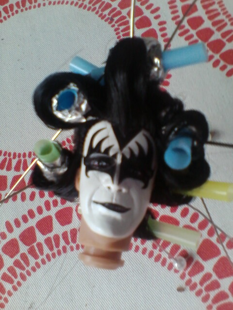 Gene Simmons Hair