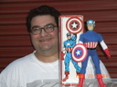 Customized 12 Inch Mego Captain America