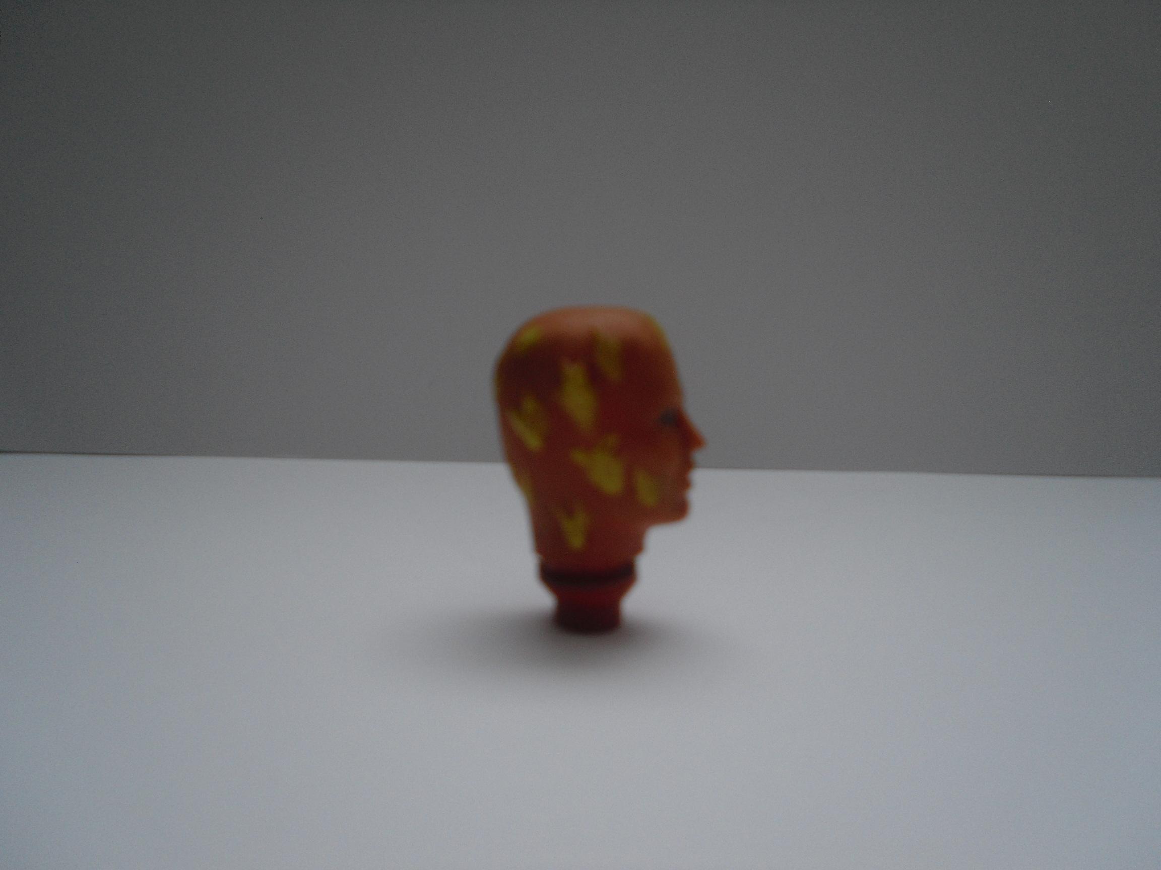 Human Torch head
