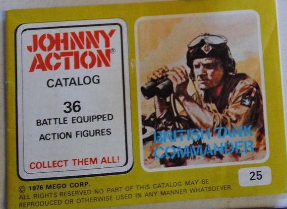 Tank Commander Booklet