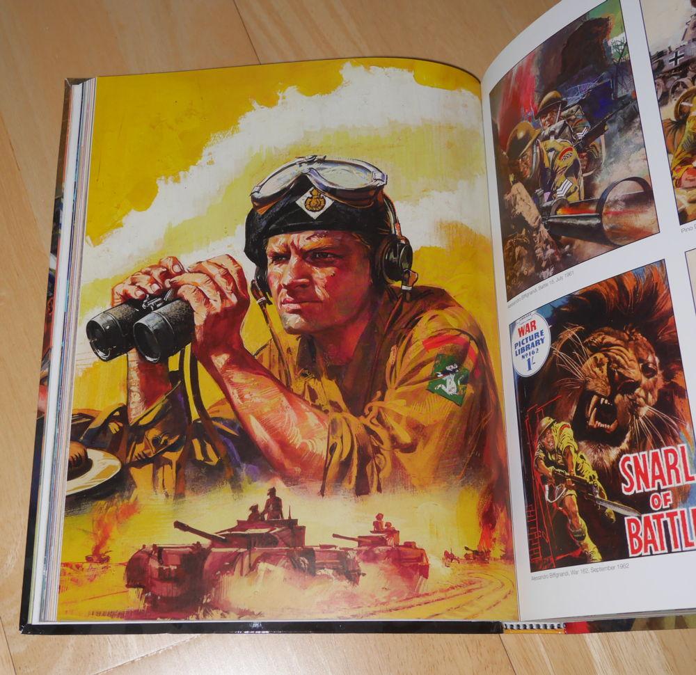 Brit. Tank Commander artwork