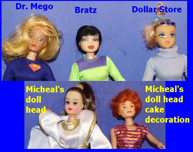 doll-heads