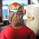 Custom Orion Mego Headsculpt