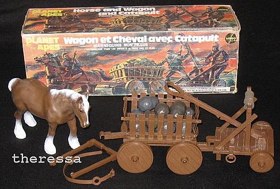 Canadian Horse Catapult Wagon
