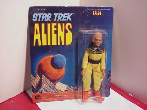 STAR TREK : les figurines MEGO Talos
