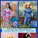 "Tokyo Angels - A Custom MEGO Doll Line ""Heavenly Fashions"" (Charlie's Angels) catalog pg."