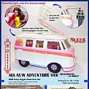 "Tokyo Angels - A Custom MEGO Doll Line ""Adventure Van"" (Charlie's Angels) catalog pg. 3"