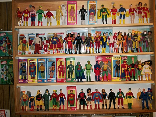 My DC Mego and Custom Collection