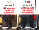 EMCE Kirk foot separator wave 1 wave 2