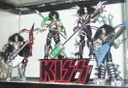 My KISS figures with letters stands