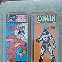 Mego Shazam and Conan Back