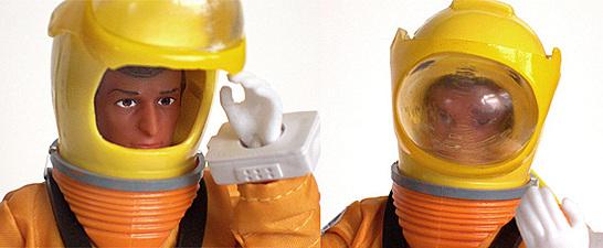 CTVT Alan Carter with Space Suit Closeup Helmet Views