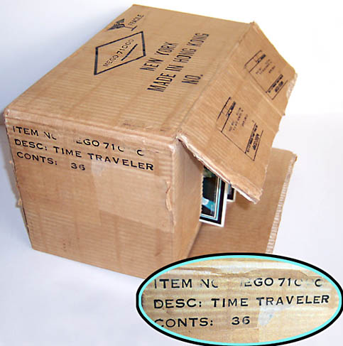 Mego Micronauts Time Traveler Case