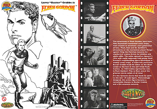 Cast-A-Way Buster Flash Gordon package