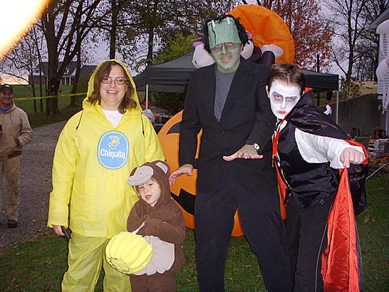 Franklin Family Halloween
