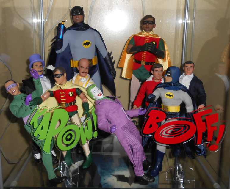 Batman 66 display