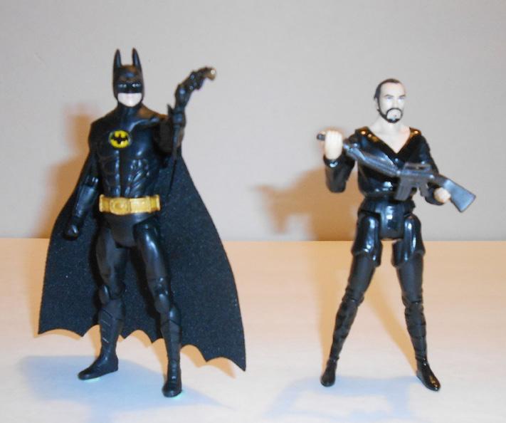 Batman and Zod