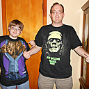 Frankenstein and Werewolf shirts