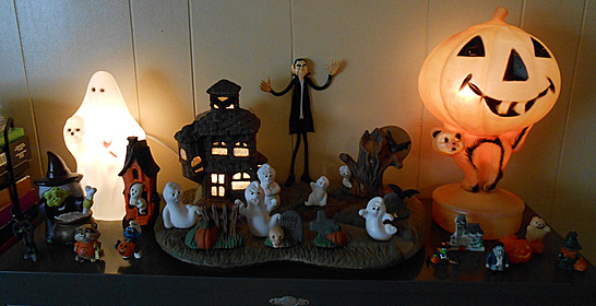 Halloween display