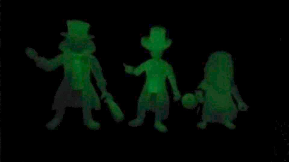 Haunted Mansion glow