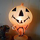 Jack O Lantern blow mold light