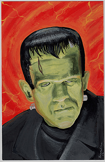 Karloff as Frankenstein Monster