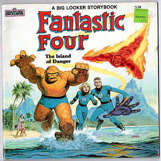 marvel books ff094