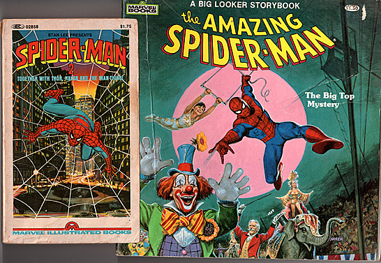 marvel books spidey093