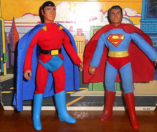 Mon-El and Superman