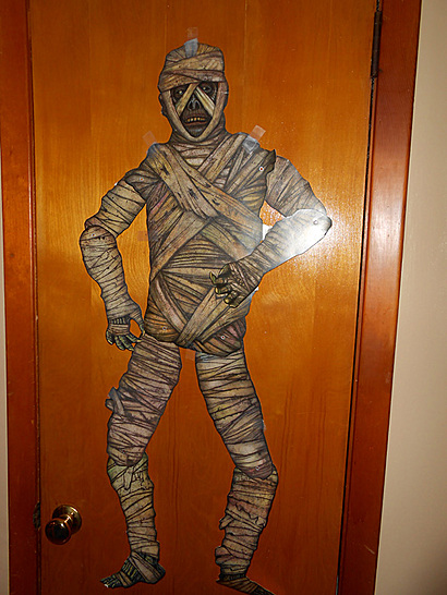 Mummy Door hanging