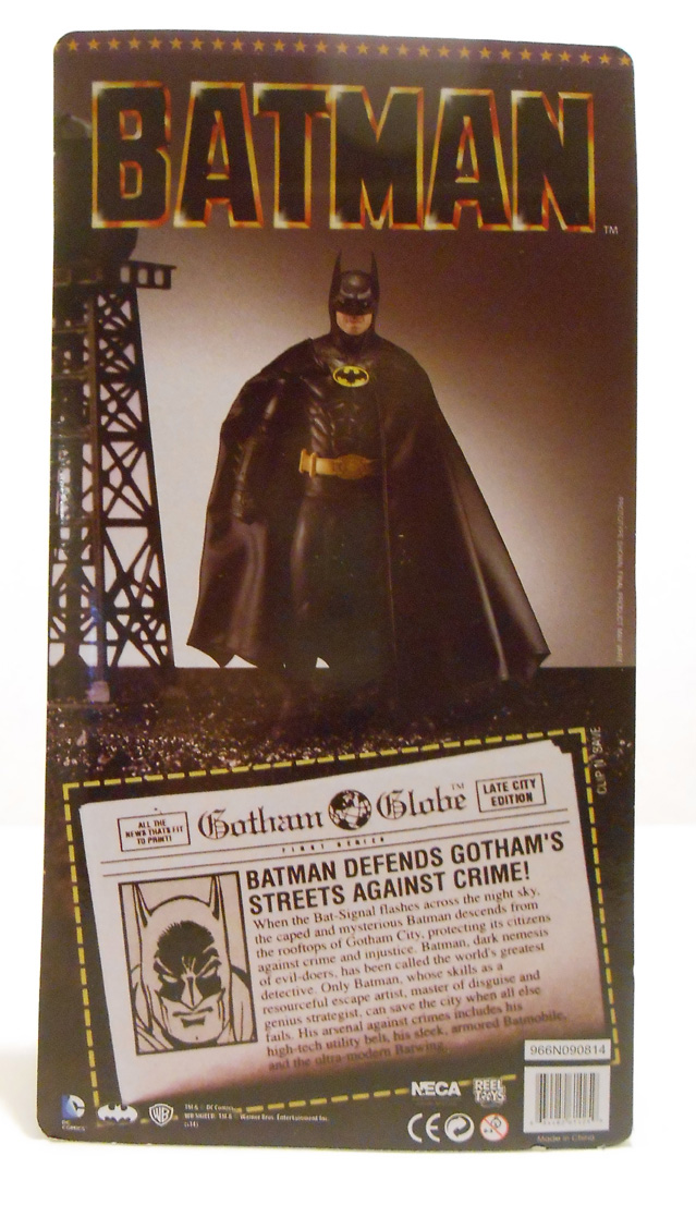 "NECA 7"" Batman back"