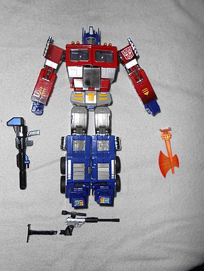 20th Optimus Prime