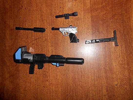 Gun and Megatron