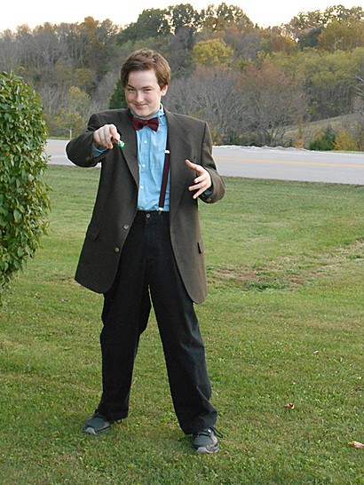 Andrew as...The Doctor!