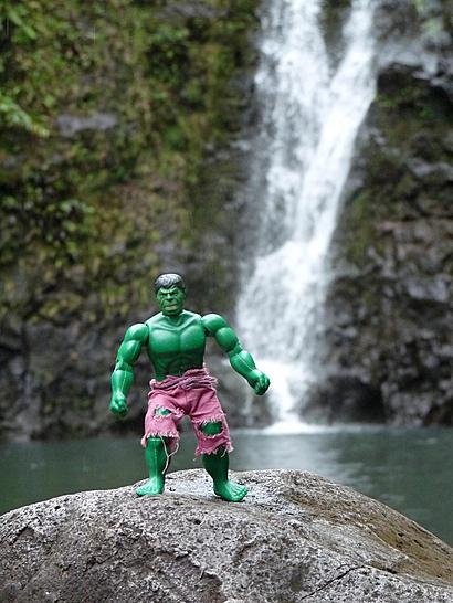 Hulk on the Highway to Hana