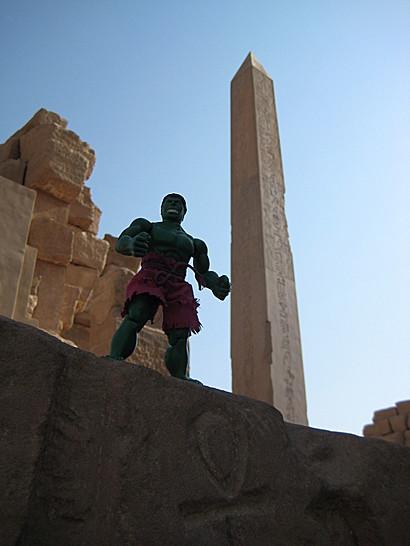 Hulk in Karnak